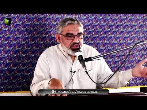 [Lecture]  H.I Ali Murtaza Zaidi - Topic: Ashaab-e-Ahlebait (as) ke Rawish-e-Tableegh - Urdu