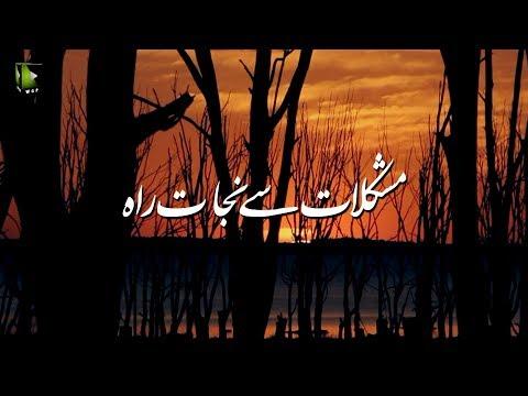 [Clip] مشکلات سے نجات کی راہ | H.I Syed Ali Murtaza Zaidi - Urdu