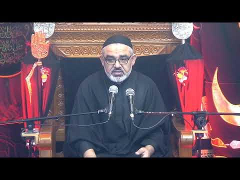 [ Eve 8th Muharram 1440]Topic: Karbala sy Zahoor tak Nusrat e Imam Ky Marahil | Syed Ali Murtaza Zaidi 17/09/2018 Urdu