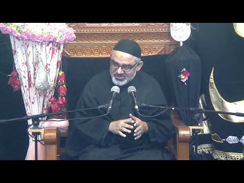 [Eve 9th Muharram1440]Topic: Karbala sy Zahoor tak Nusrat e Imam Ky Marahil|H.I Syed Ali Murtaza Zaidi 18/09/2018 Urdu